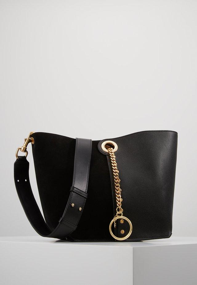 NEW BICOLOR  - Handbag - black