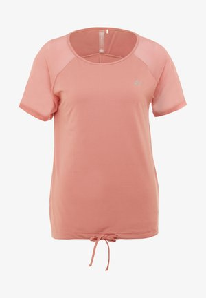 ONPJAVA TEE - Print T-shirt - dusty rose