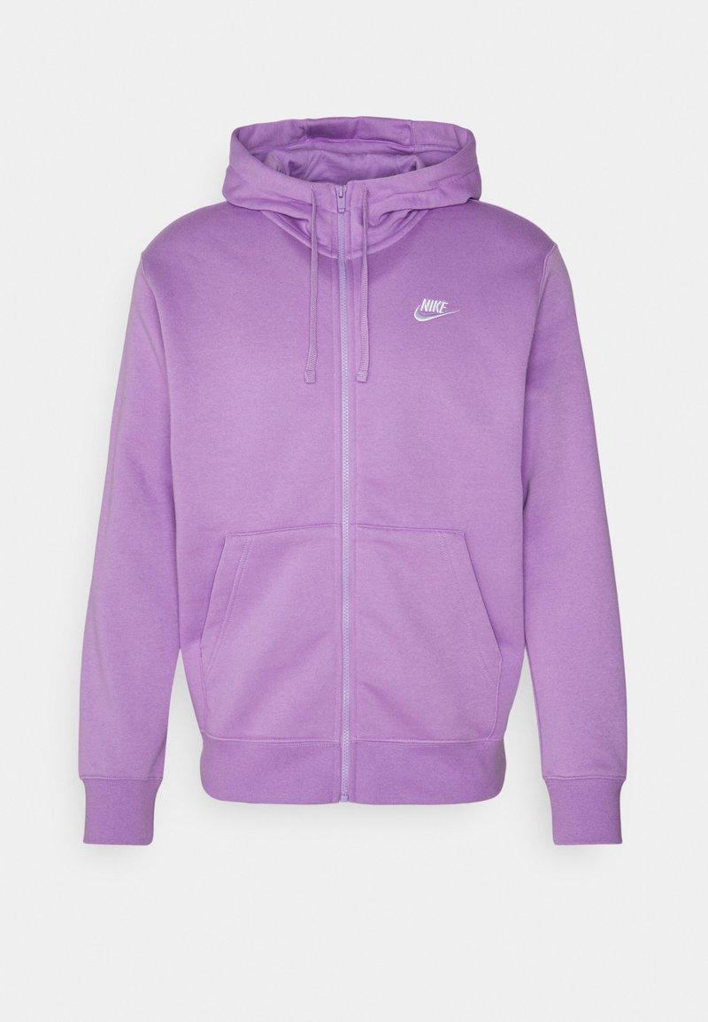 Nike Sportswear - CLUB HOODIE - Sweatjakke - violet star/white