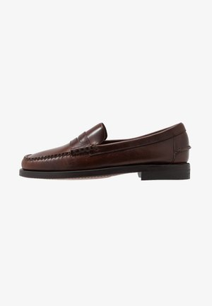DAN WAXY - Smart slip-ons - brown cinnamon
