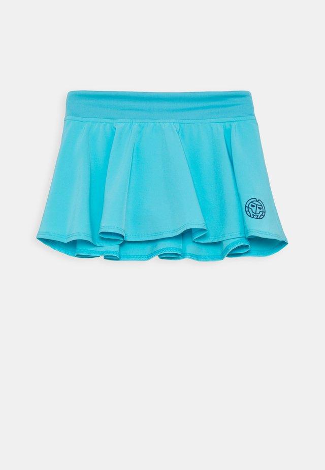 ZINA TECH SKORT - Sportovní sukně - aqua
