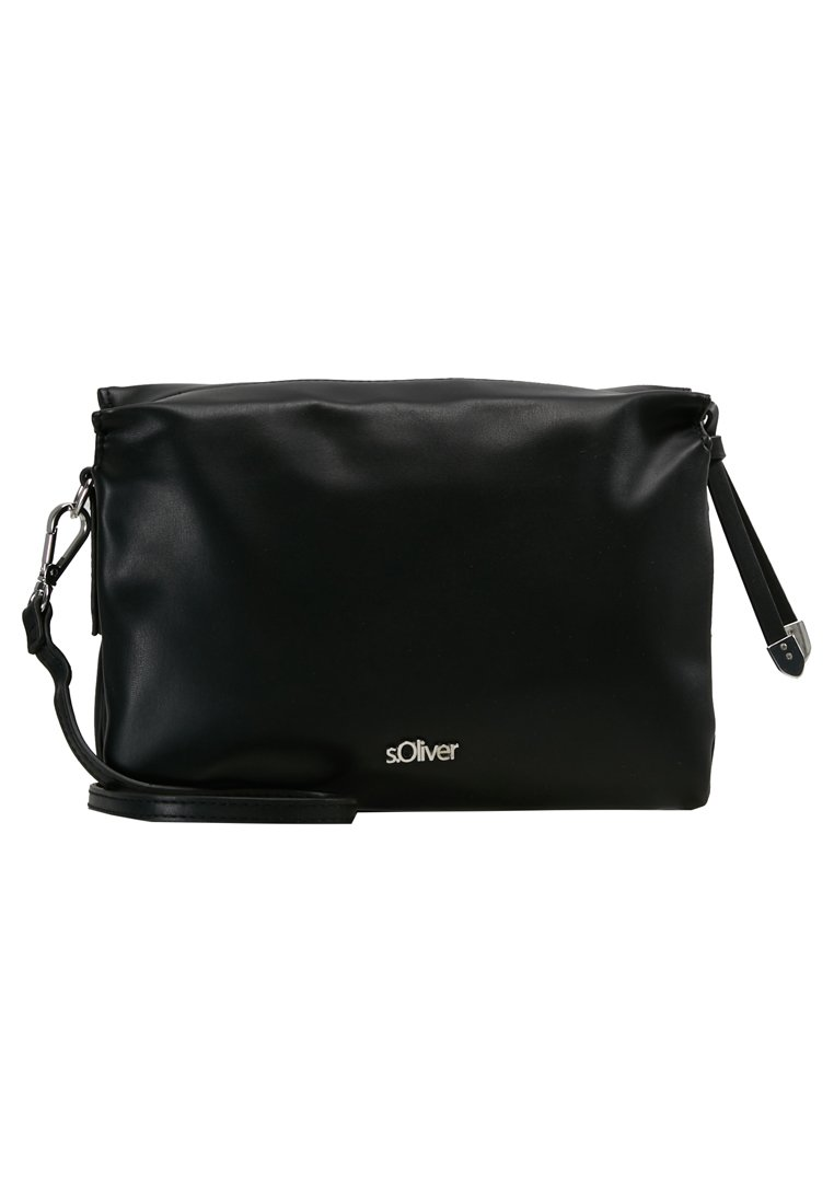 s.Oliver CITY BAG Skulderveske black Zalando.no