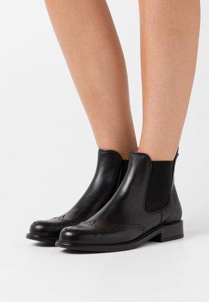 TRIM - Classic ankle boots - cuir/noir