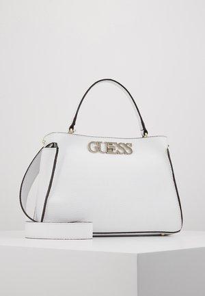 UPTOWN CHIC TURNLOCK SATCHEL - Handbag - white