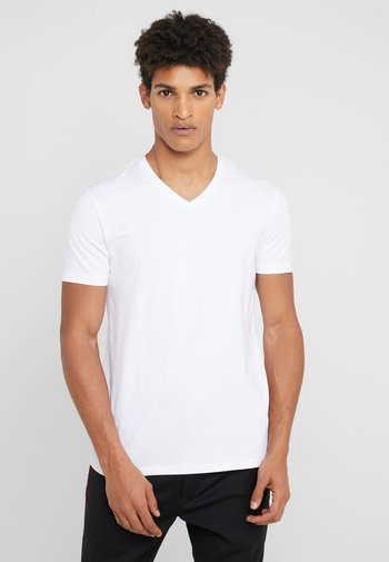 2 PACK - T-shirt - bas - black/white
