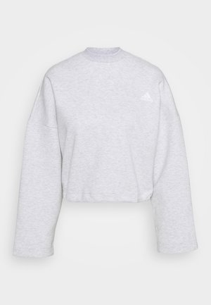 CREW - Langærmede T-shirts - light grey heather