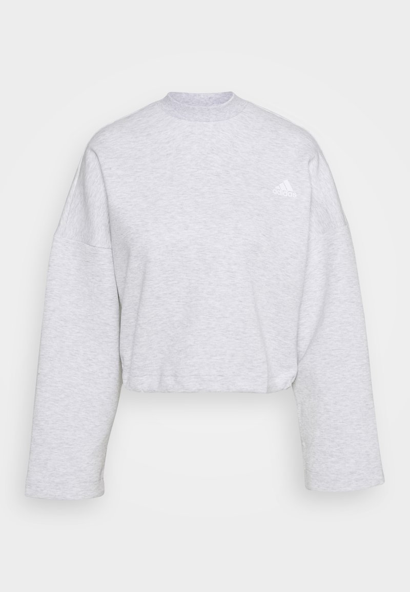 adidas Performance - CREW - Longsleeve - light grey heather