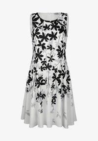 Alba Moda - Day dress - off-white grau schwarz - 6