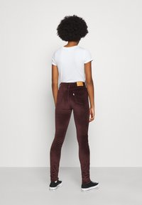 Levi's® - 721 HIGH RISE SKINNY - Jeans Skinny Fit - bordeaux - 2