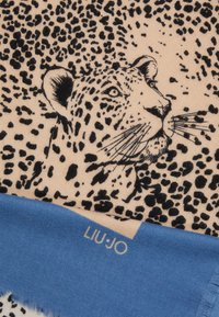 LIU JO - FOULARD GARZATO PENOMBRE MACULA COLO - Tuch - blue/beige - 1