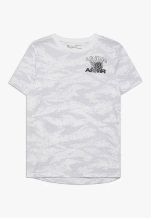 CAMO TEE - Print T-shirt - white/black