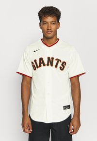 Nike Performance - MLB SAN FRANCISCO GIANTS OFFICIAL REPLICA HOME - Fanartikel - pro cream - 0