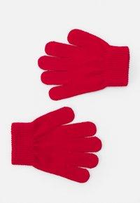 Fila - TAPED GLOVES UNISEX - Gloves - true red - 1