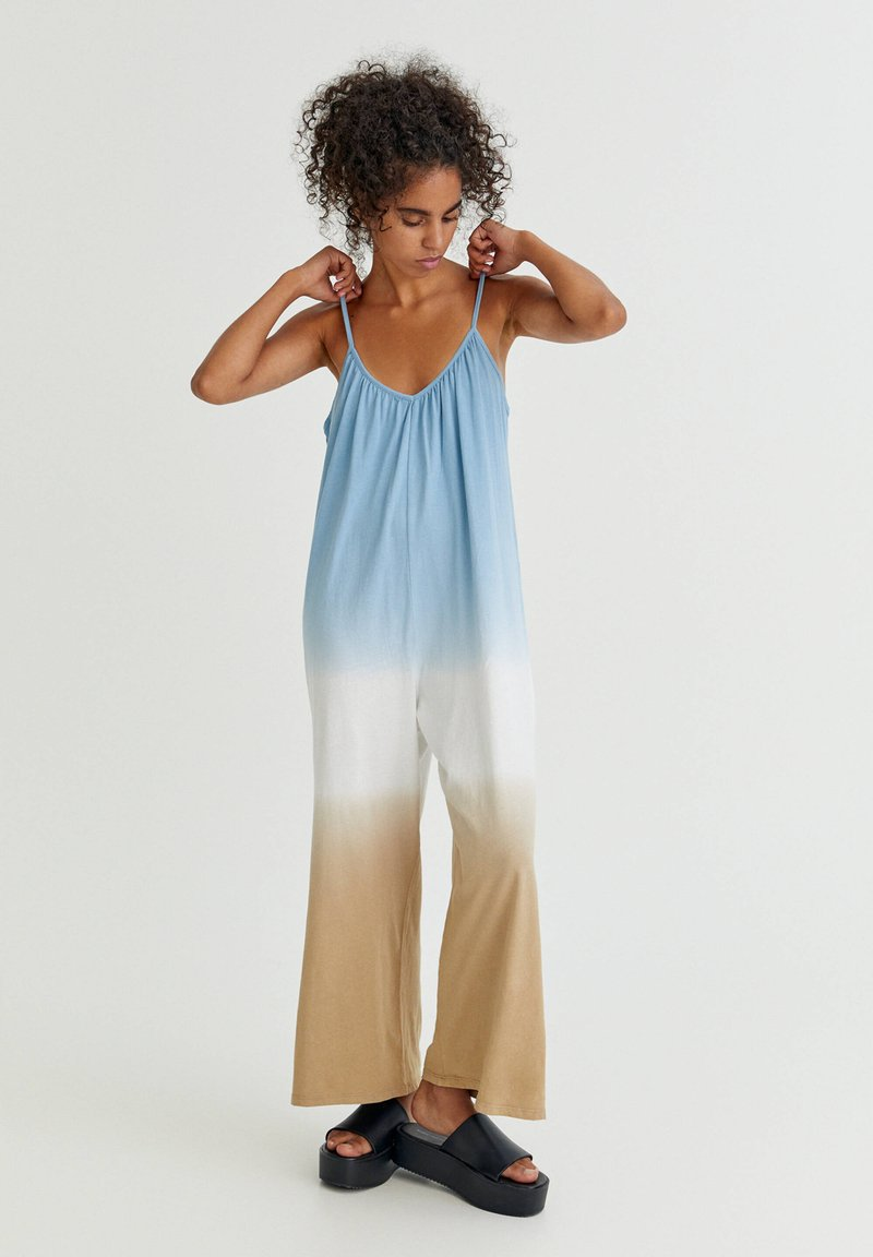 PULL&BEAR - Jumpsuit - khaki