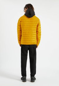PULL&BEAR - Zimní bunda - yellow - 2