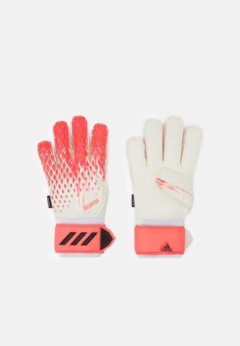 UNISEX - Goalkeeping gloves - white/pop