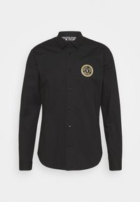 Versace Jeans Couture - POPELINE STRETCH - Shirt - nero - 7