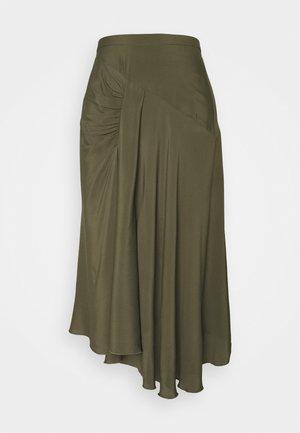 Áčková sukně - militare