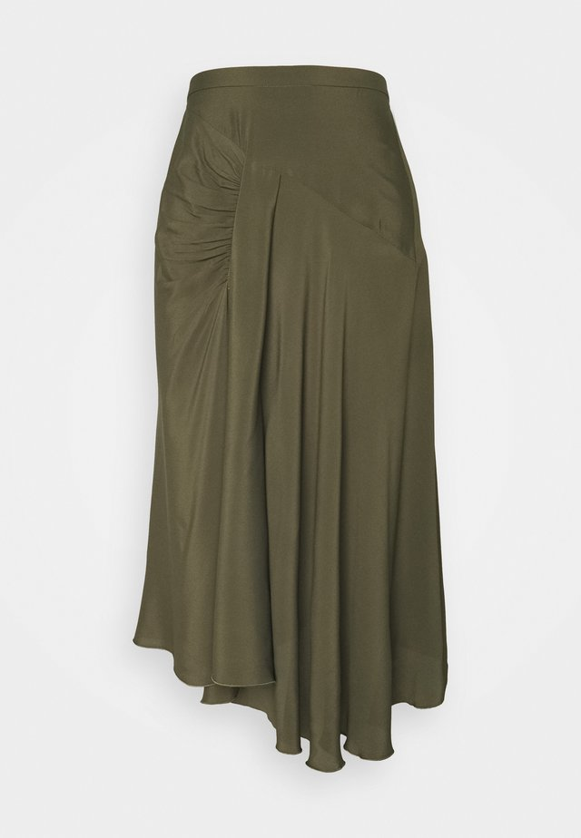 A-snit nederdel/ A-formede nederdele - militare
