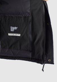 khujo - NANDU - Winter jacket - schwarz-schwarz kombo - 10