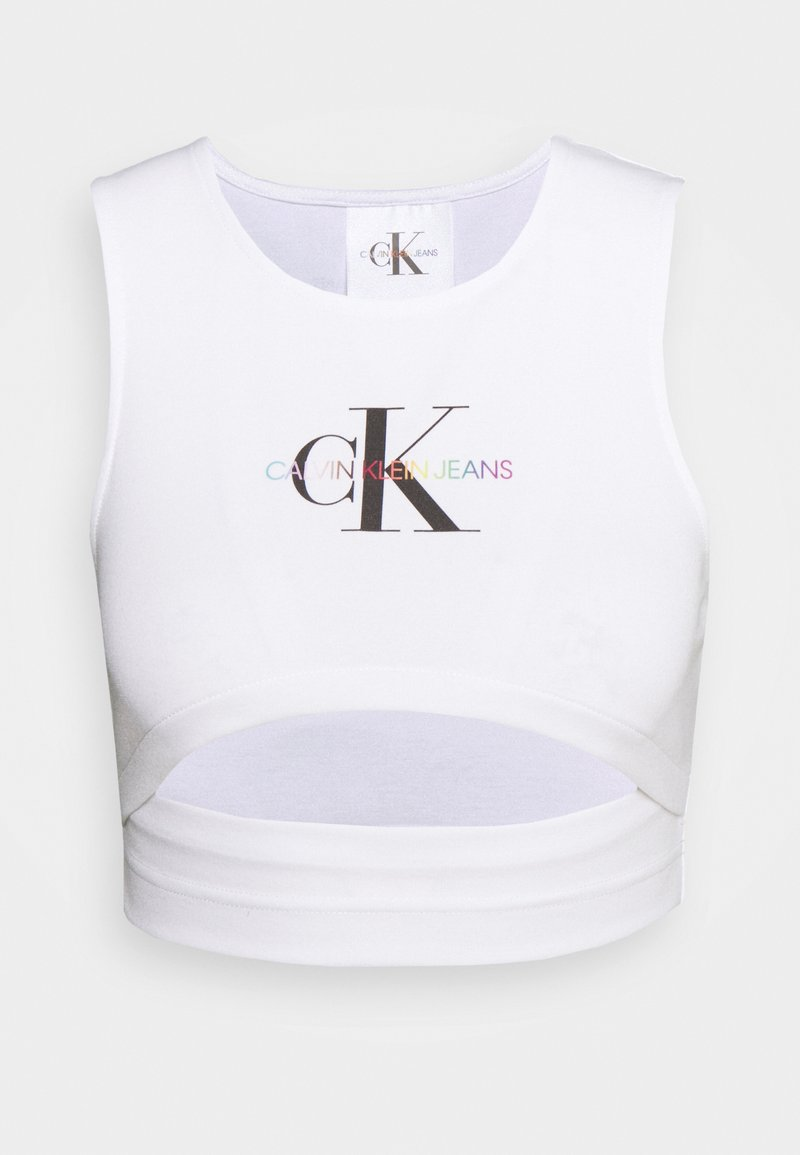 Calvin Klein Jeans - PRIDE MILANO - Top - bright white