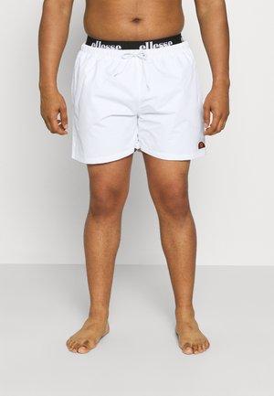 TEYNOR - Badeshorts - white