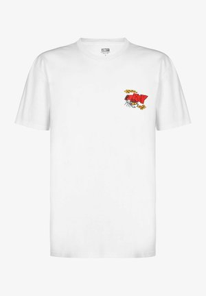 SCORPION - Print T-shirt - white