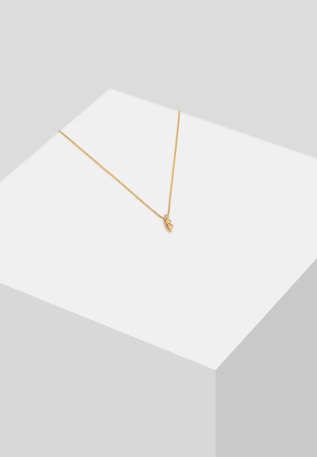 GEO TRIO - Necklace - gold-coloured
