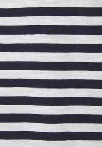 Esprit - SLUB - Print T-shirt - navy - 2