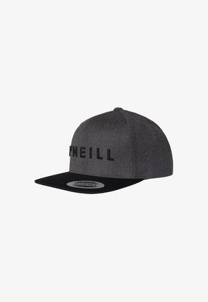 Cap - mid grey melee