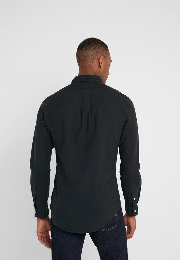 Polo Ralph Lauren OXFORD SLIM FIT - Koszula - black/czarny Odzież Męska SARF