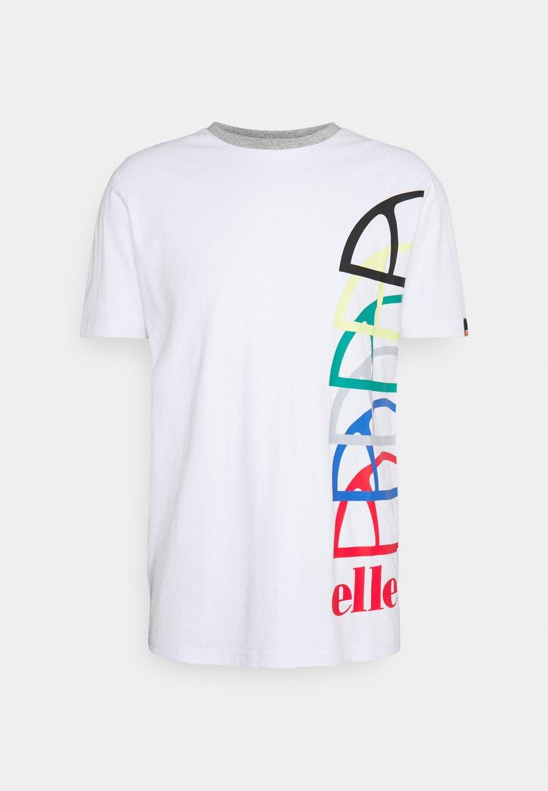 Ellesse - NURALLO TEE - Print T-shirt - white