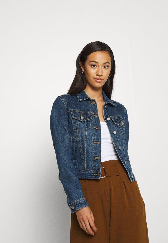 VILINDA JACKET - Veste en jean - dark blue denim