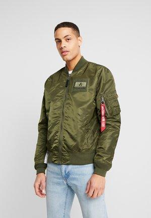BLOUSON CUSTOM - Bomber Jacket - dark green