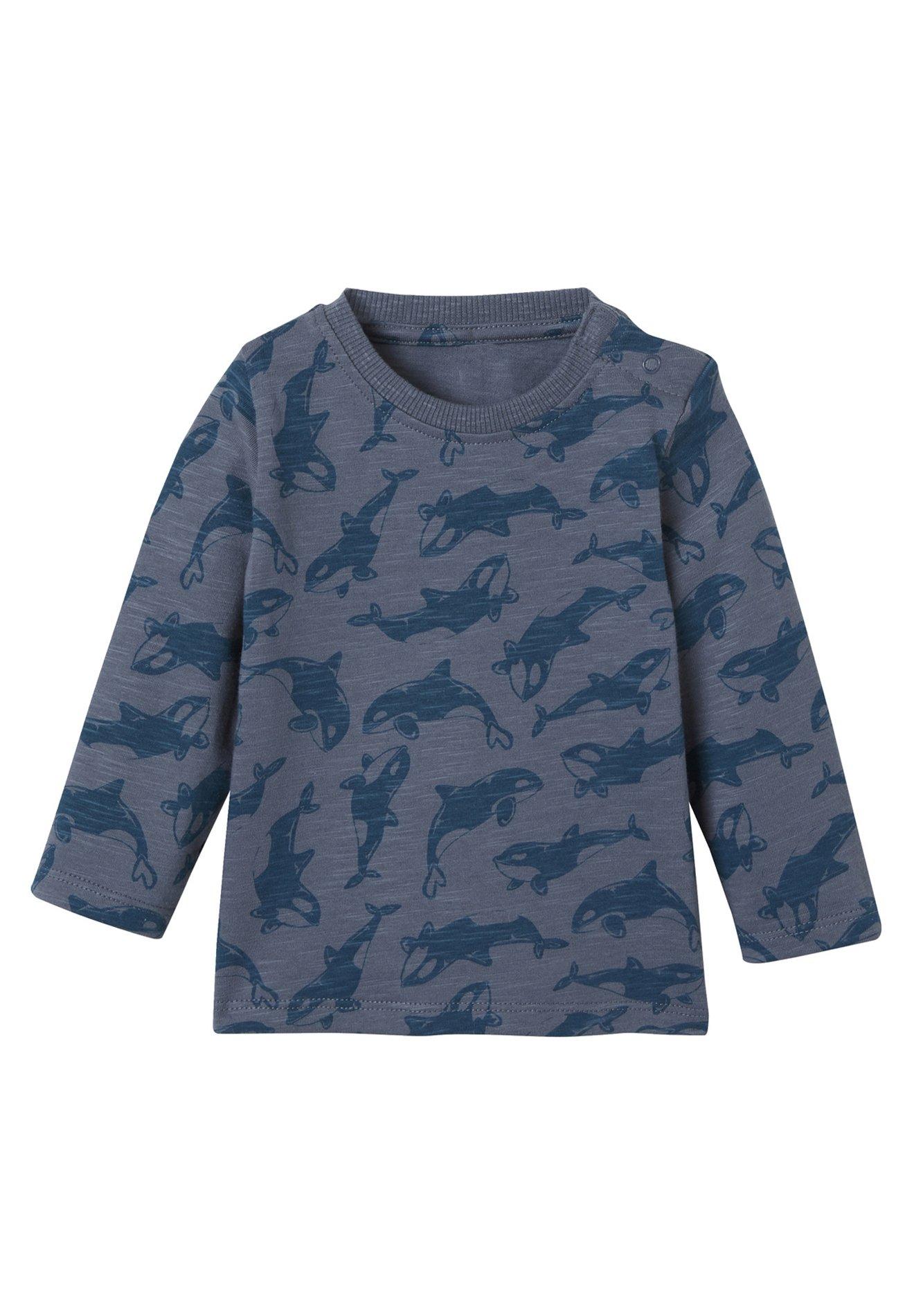 Kinder WAL-PRINT - Langarmshirt