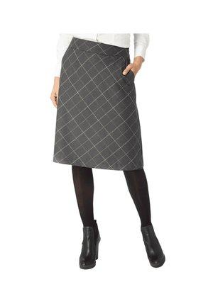 STYLISCHER  - A-line skirt - grau