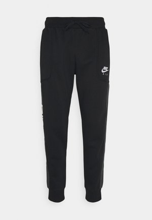 AIR - Tracksuit bottoms - black/smoke grey