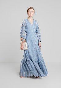 IVY & OAK - VOLANT DRESS - Occasion wear - mineral blue - 1
