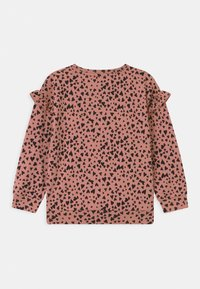 Lindex - HEART PRINT - Sweater - dusty pink - 1