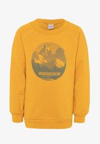 Fred's World by GREEN COTTON - HIKING MOUNTAIN - Sweatshirt - sunflower - 0