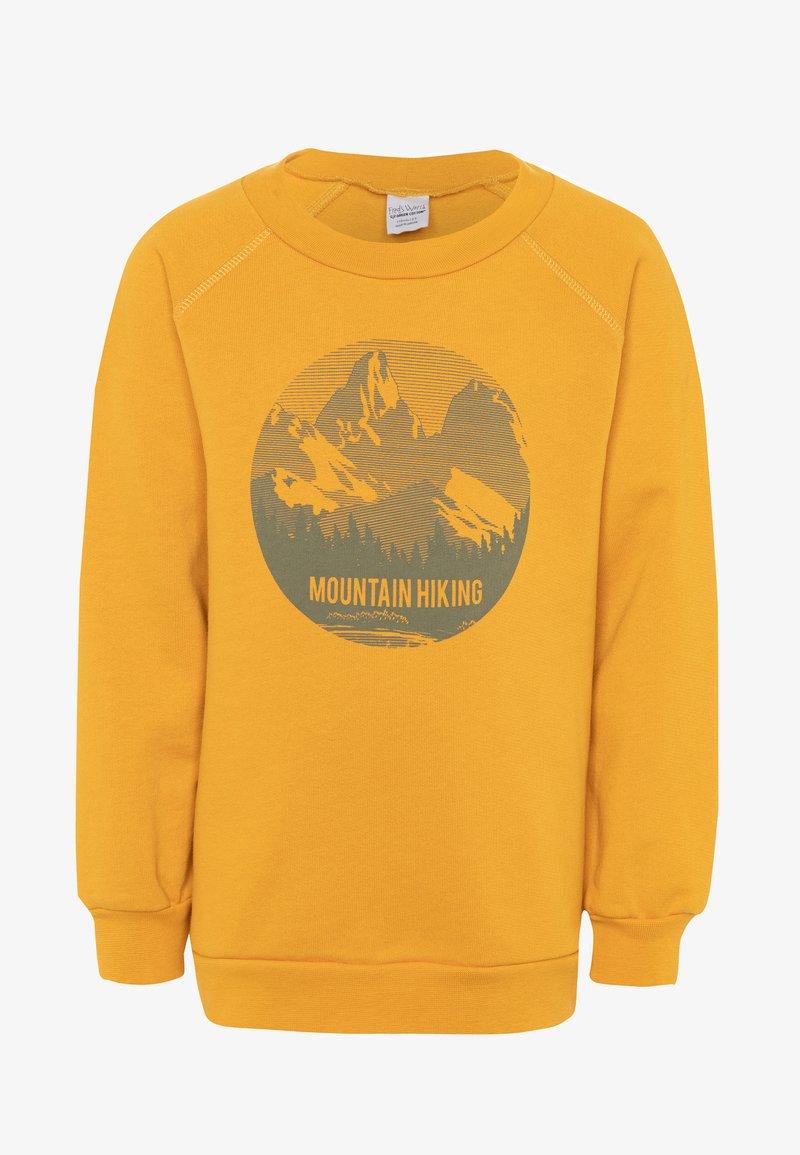 Fred's World by GREEN COTTON - HIKING MOUNTAIN - Sweatshirt - sunflower