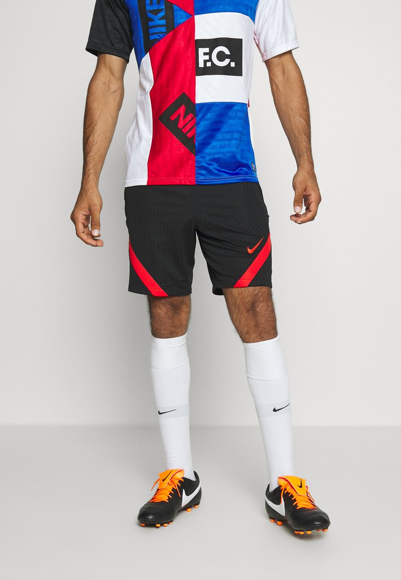 Nike Performance - TÜRKEI DRY SHORT - Sports shorts - black/habanero red/habanero red