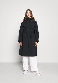 Nike Sportswear - Trenchcoat - black/lapis - 0
