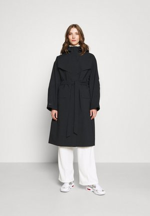 Trenchcoat - black/lapis