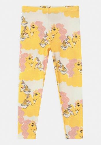 UNICORN NOODLES UNISEX - Leggings - Trousers - yellow