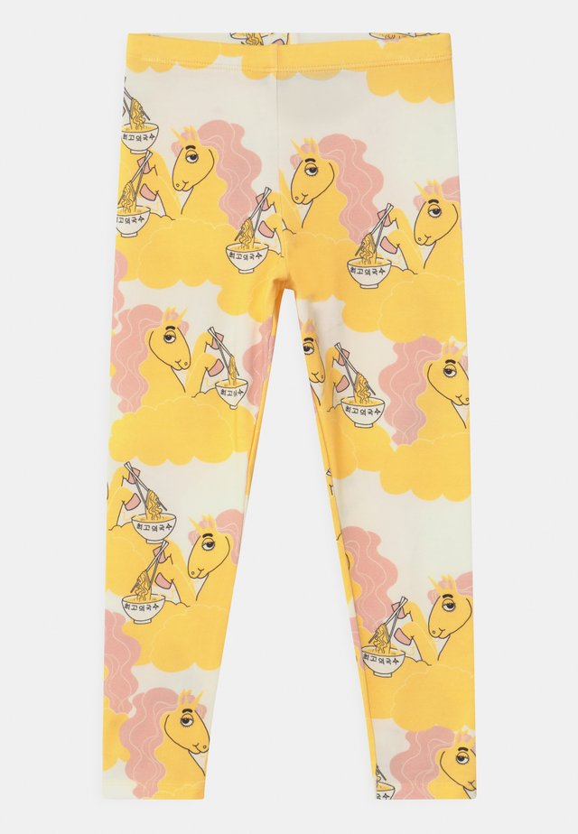 UNICORN NOODLES UNISEX - Leggingsit - yellow