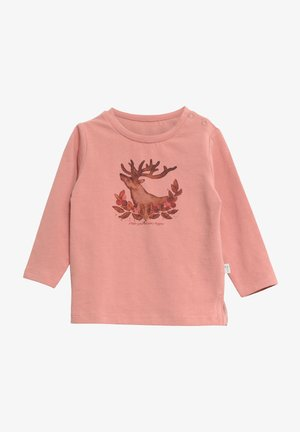 Long sleeved top - soft rouge