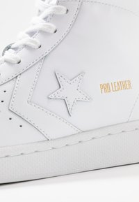 Converse - PRO LEATHER - High-top trainers - white - 5