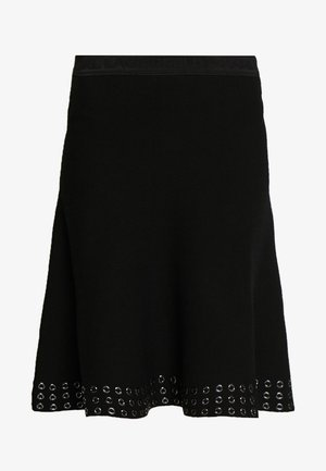 SKIRT - Áčková sukně - black