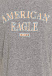 American Eagle - BRANDED BRIGHTS SANTA MONICA TEE - Print T-shirt - heather gray - 2